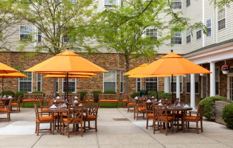 When the weather is ideal, you might prefer to enjoy your meal al fresco on our beautiful outdoor patio.
