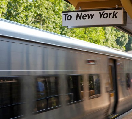 Train To New York from Tuckahoe