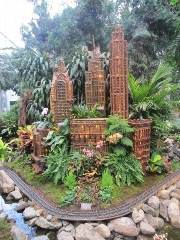 Trip to the Train Show at Botanical Gardens - The Fountains at ...