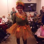 Kay, chef was a Fall Fairy!!! She made her entire costume from scratch. Kay won our Associate Costume Contest.