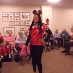 Denese looked great as Minnie Mouse. Mickey Mouse must have been home sleeping!