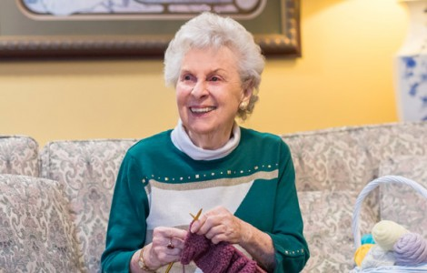 Resident Pauline Santoro is Enjoying Worry-Free Retirement Living at The Fountains