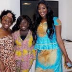Our three lovely models, (left to right) Baluanne, Chermeine and Jamilah.