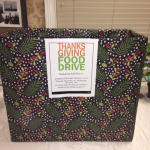 The donation box can be found in the Arts & Crafts Studio.