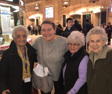 Trip into Grand Central Terminal & Lunch at the Oyster Bar Restaurant
